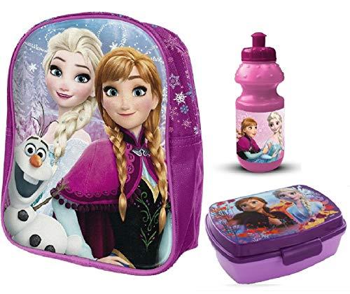 Frozen 3D Rucksack Die Eiskönigin + EXTRA Zugabe (lila, Nr.A1214)