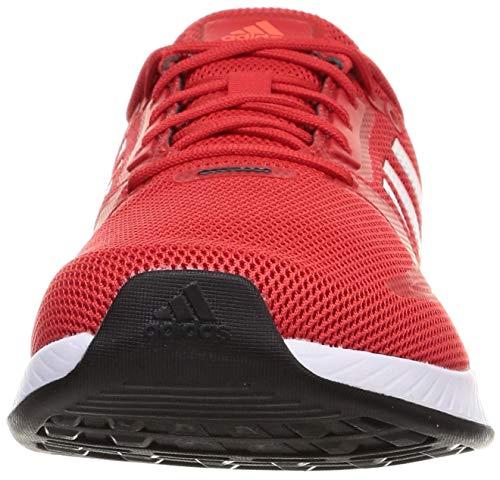adidas RUNFALCON 2.0, Zapatillas de Running Hombre, Rojint/FTWBLA/Rojsol, 41 1/3 EU