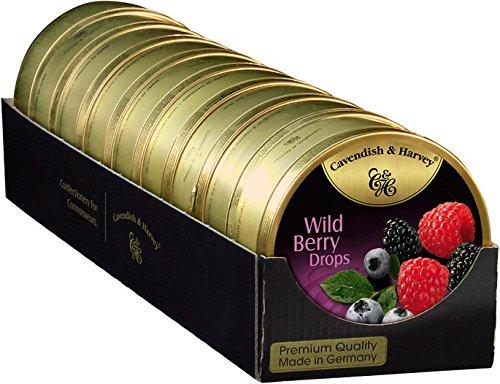 Cavendish BLIK WILD BERRY DROPS 9 x 175 gram