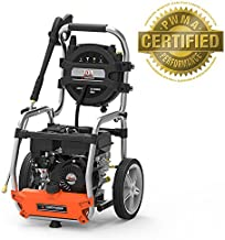 YARD FORCE 3200 PSI 2.5 GPM Gas Power Pressure Washer with Hose Reel and Bonus Turbo Nozzle
