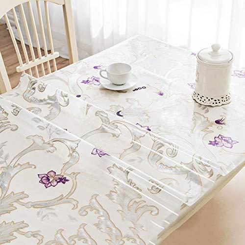Nappe transparente/nappe en relief PVC, lingette propre 1.0mm épaisse, imperméable et résistant à l'huile, housse de table/table, Home | cuisine | restaurant | comptoir de mariage AA~