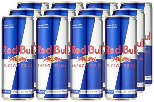 Red Bull Energy Drink Dosen Getränke 12er Palette, EINWEG (12 x 250 ml) - 6