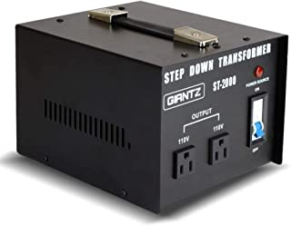 Giantz 2000W 240V to 110V Step Down Stepdown Transformer Voltage Converter AU-US