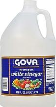 Goya White Vinegar - Distilled, 1 Gallon