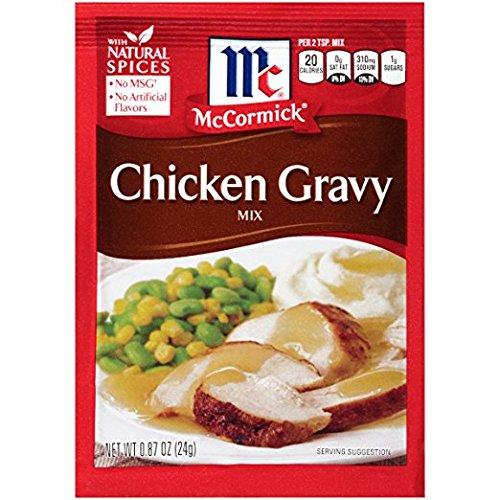 McCormick Chicken Gravy Mix, 0.87 OZ (Pack - 12)