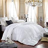 LUXURIOUS Queen Size Siberian GOOSE DOWN Comforter, 600 Thread Count...