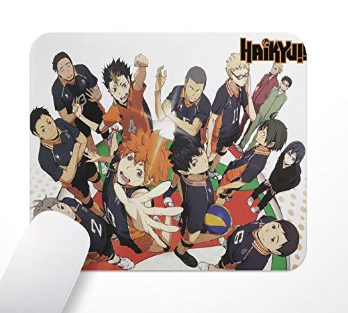 Alfombrilla de ratón para Gaming Office, Anime Haikyuu, base de goma, antideslizante,...