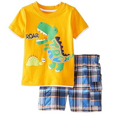 Meeyou Little Boys Cotton Short Sleeve TShirt