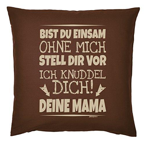Art & Détail T-shirt Coussin : Maman Mom Fête des Mères – TU esseulée sans moi je t'Petit. Votre maman – Comme Présent