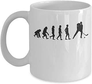 Hockey Mug - Funny Hockey Evolution Coffee Mugs Gift Cup, 11/15 Oz