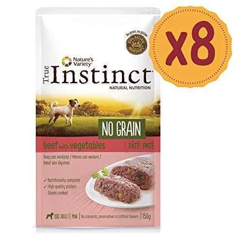 True Instinct No Grain Manzo - Paté - Mini - Adult 150G X 8-1200 Gr