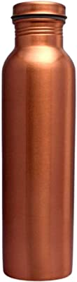 Impex Pure Copper Handmade Quality Hammered Copper Bottle Water Bottle Ayurvedic Health Benefits Copper Bottle Capacity 1000 ML