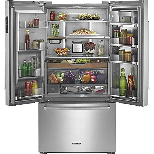 KitchenAid KRFC704FSS 23.8 Cu. Ft. Stainless Steel French Door...