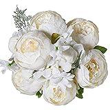 Luyue Vintage Artificial Peony Silk Flowers...