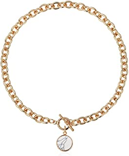 """Necklace Jewelry Women's Pendant Toggle Necklace Alloy Necklace With Toggle Clasp (Length: 16"""") Pendant Necklace"""