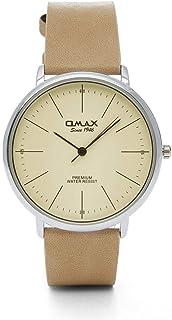 اوماكس ساعة رسمية للجنسين انالوج بعقارب جلد - 00CC9019QV0V
