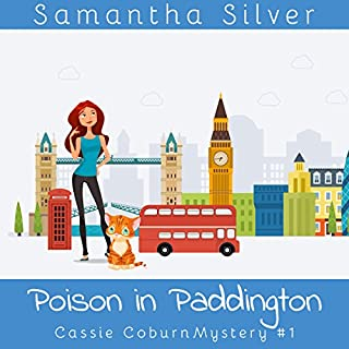 Poison in Paddington audiobook cover art