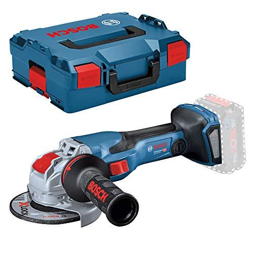 Bosch Professional GWX 18V-15 C - Amoladora angular a batería (18V, Ø disco 125mm, X-LOCK, BITURBO, conectable, sin batería, en L-BOXX)