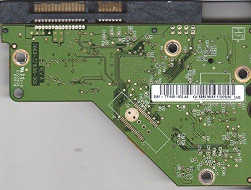 WD20EARS-00MVWB0, 2061-771698-802 AA, WD SATA 3.5 Leiterplatte (PCB)