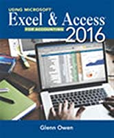 Using Excel & Access 2016 for Accounting