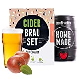 braufaesschen | Geschenk für Frauen | Cider-Brauset Apfel | Apfelwein zum selber Machen | In nur 7 Tagen trinkfertig Frauen -