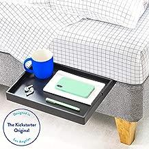 BedShelfie The Original Bedside Shelf - 9 Colors / 4 Sizes - AS SEEN ON Business Insider (Slide Style, Bamboo in Black)