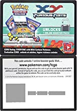 Pokemon - XY Furious Fists Booster Pack Code - Pokemon TCGO Code Cards