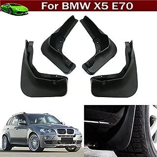 Tiantian New Car Mud Flaps Splash Guard Fender Mudguard Mudflap for BMW X5 E70 2007 2008 2009 2010 2011 2012 2013