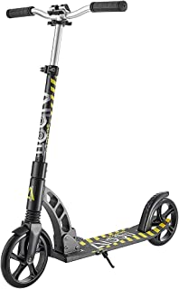 Albott Kick Scooters for Kids 8 Years and up Foldable Portable Adult Scooter with Adjustable Handlebar, Dual-Suspension Sy...