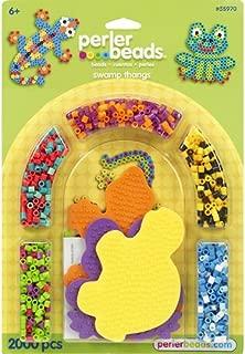 Perler Beads Swamp Thangs Animal Beads Activity Bead Kit for Kids, 2000 pcs