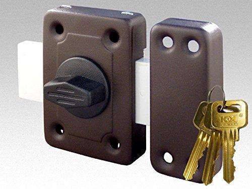 Master of Trading Gama - Serratura a cilindro universale d'alta qualità per serratura di porta tipo Yale a 3 chiavi