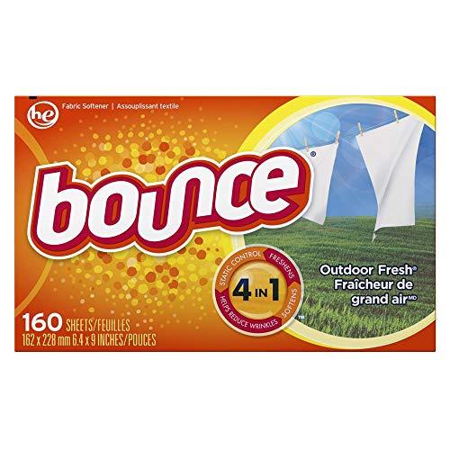Hojas Frescas para la Secadora Bounce 160 Unidades