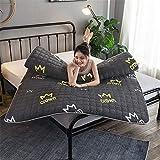 GFYL Japanischen futon Tatami, Winter Warm Thick Bed Matratze, Tatami Matratze, Single Double Folding Cushion,Single Double Matratze Für Home Schule Kabine,B(6cm),70.9'X79'