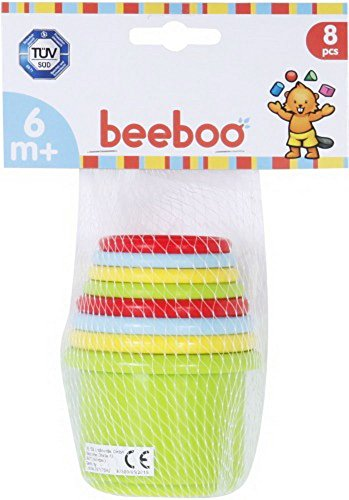 VEDES Großhandel GmbH - Ware BEEBOO Baby empilable Pyramide, 8 pièces