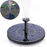 Cloudsky Solar Fountain Pump Free Standing 1.5W Bird Bath Water Fountain Pump