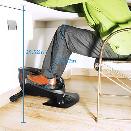 LOVEQIZI Mini Ellipsentrainer – Under Desk Bike Bild 5*