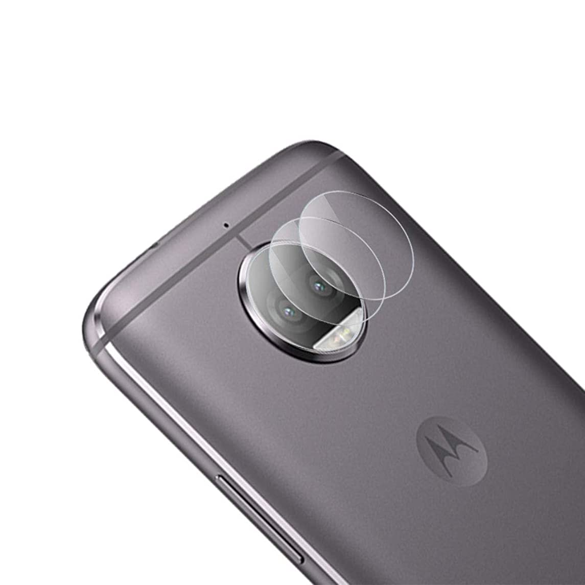 Fit Moto G5S Plus Camera Protector-(3 Pack) SEEU. AGAIN Anti-Scratch 9H Hardness HD Clear Back Camera Lens Tempered Glass Protective Film Fit Motorola Moto G5S Plus XT1802 XT1803 XT1804 XT1805 XT1806