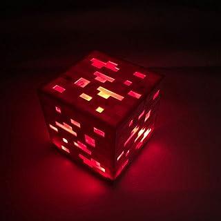 DGSPGD La Lampe de Mineur Rechargeable de MC Miner's Lamp Change de Couleur, veilleuse de modèle de périphérique de Jeu
