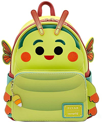 Loungefly X Disney A Bugs Life Heimlich Mini Cosplay Backpack -PASSWORD: BEAUTIFUL BUTTERFLY