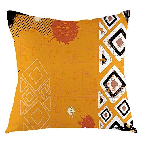 FULIYA Tribal Throw Pillow Cushion Cover...