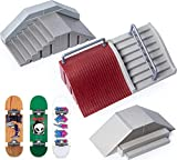 Tech Deck, Ultimate Street Spots Pack with 3 Fully Assembled...