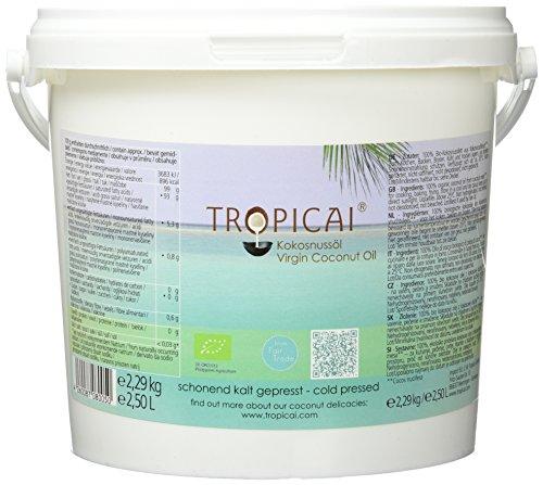 Tropicai Bio-Kokosöl, 1er Pack (1 x 2.5 l)