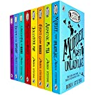 A Murder Most Unladylike Mystery Series 8 Books Collection Set by Robin Stevens (First Class Murder, Jolly Foul Play, Spoonful of Murder, Death In The Spotlight & MORE!)