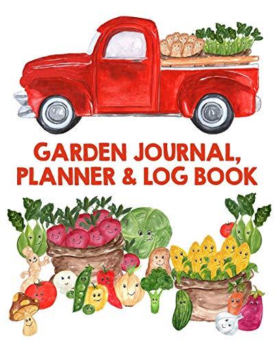 Garden Journal, Planner and Log Book: Monthly Planting Planner, Gardener Organizer, Gardening Gift