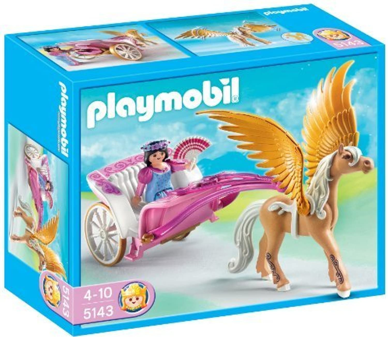 Playmobil 5143 Princess Fantasy Castle Pegasus Carriage by Playmobil