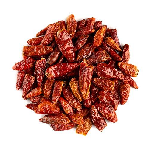 Cayenne Pfeffer Ganze Bio Gewürze - Pikant scharf - Getrocknete Rote Cayenna Pfeffer - Rote Cayene - Cayena - Cheyenne Pfeffer - cayennepfeffer - chayennepfeffer 100g