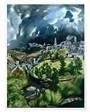 AZSTEEL Toledo Printed On Premium Paper - Poster No Frame -