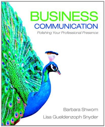Business Communication: Polishing Your Professional Presence