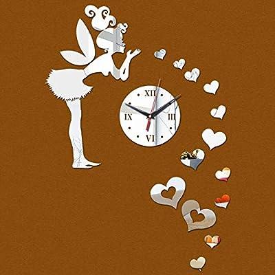 2017 New Clock Watch Wall Clocks Horloge Vintage Reloj Pared Sale Quartz Needle Modern Acrylic Plastic