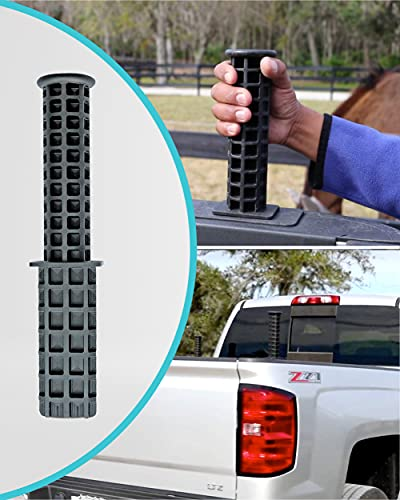 """High Strength Truck Bed Handle - Car Assistant Support Handle - 8.5"""" x 2"""" Tailgate Assist and Tie Down Post fits Ford Ranger/F-Series F-150, F-250, F-350 - Pickup Truck Bed & Tailgate Accessories"""